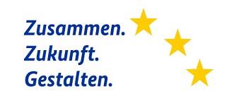 Logo ESF Claim Zusammen Zukunft Gestalten