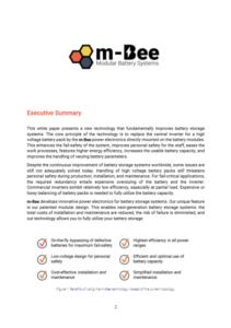 m-Bee Power Circuits Whitepaper