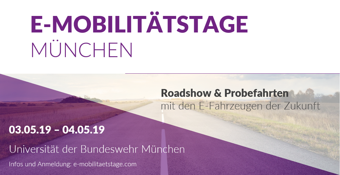 E-Mobilität hautnah in Neubiberg: m-Bee ist bei den E-Mobilitätstage 2019 vertreten